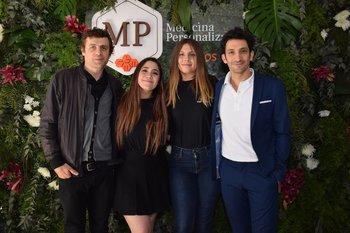 Luciano Supervielle, Emiliana Abbate, Valentina Álvarez y Juan Minujin
