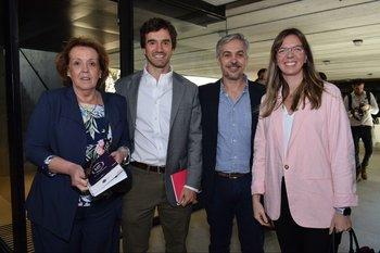 María Ferrari Rebri, Matias de Freitas, Ignacio Olivera y Alejandro de Freitas