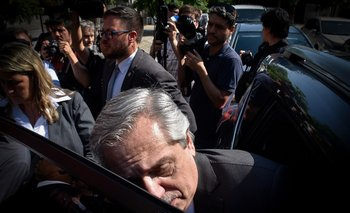 Alberto Fernández en 2019
