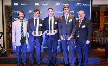Luis Silva, Alfonso Blanco, Gonzalo Cuiñas, Gabriel Gorondona y Gaston Labadie