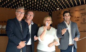 Carlos Fagetti, José María Lez, Liliam Kechichian y Francisco Pittorno