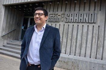 Aldo Silva, periodista de canal 12 y radio Sarandí