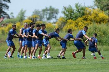 Nacional volvió a los entrenamientos en Los Céspedes