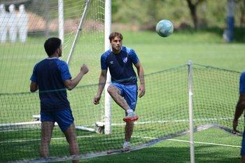 Rafa García en el fútbol tenis
