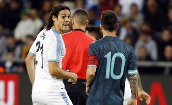 Cavani y Messi, dos de las figuras del partido de este viernes