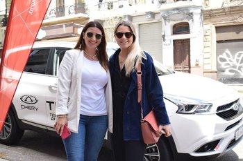 Florencia Vila y Chloe Vercelli