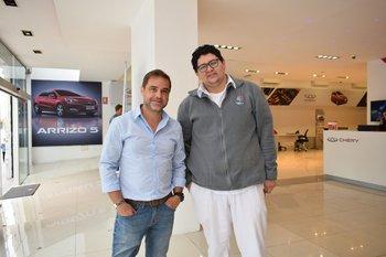 Richard Caballero y Brian Triviño