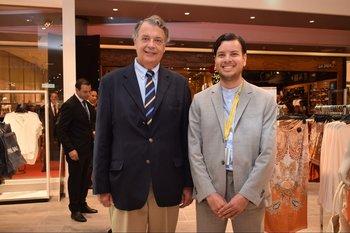 John Christian Schandy y Facundo Ortiz