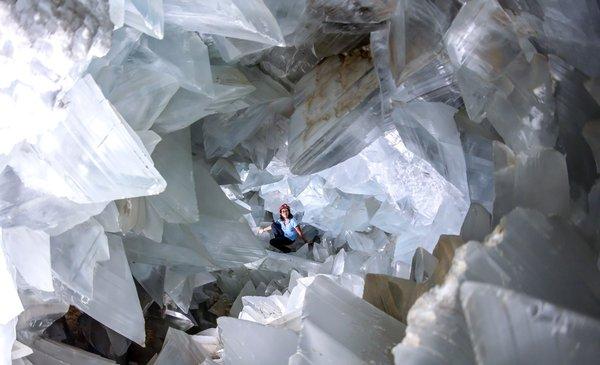 La cueva de cristales más grande de Europa está en Andalucía