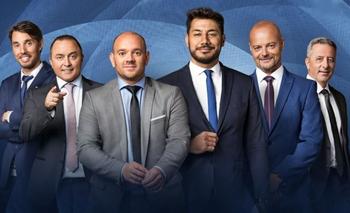 Los integrantes de Fox Sports Uruguay
