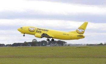 Avión de Mercado Libre