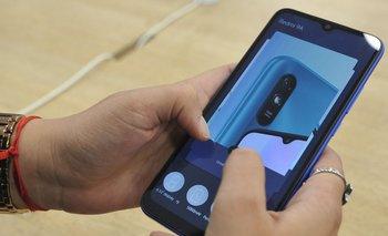 Smartphone de Xiaomi que utiliza el sistema operativo Android.