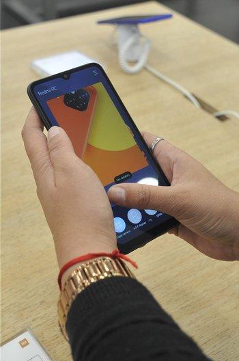 Los celulares de Xiaomi también se hacen fuertes en Uruguay.