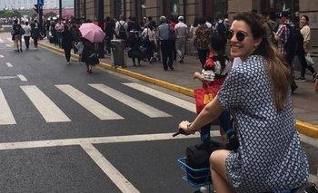 Antonella Vilardo hace más de cuatro años que vive en China