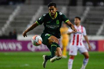 Andrade, de lo mejor de Atlético Nacional