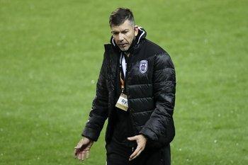 García en su debut internacional