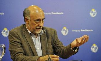 Ministro de Trabajo y Seguridad Social, Pablo Mieres.