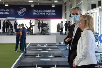 Carolina Cosse y José Decurnex