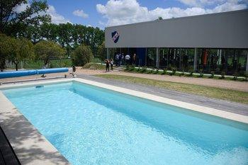 La piscina también se inauguró