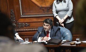 El senador de Ciudadanos, Pablo Lanz