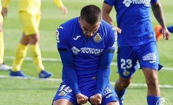 Mauro Arambarri ya se acostumbró a gritar goles para Getafe