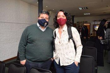 Luis Barragand y Amanda Soria