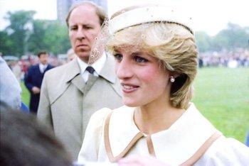 Princesa Diana de Gales en 1983