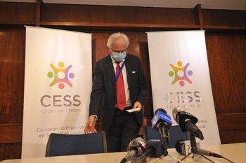 Rodolfo Saldain, presidente de la Comisión de Expertos de la Seguridad Social