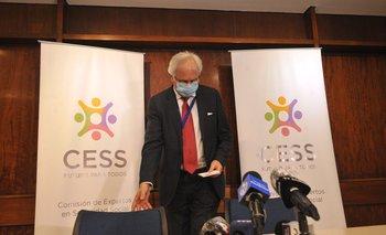 El presidente de la Comisión de Expertos de la Seguridad Social, Rodolfo Saldain, elaboró el segundo borrador del diagnóstico de la reforma jubilatoria