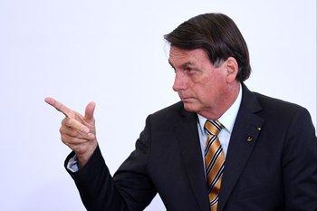 Bolsonaro fue internado el miércoles, donde se recupera