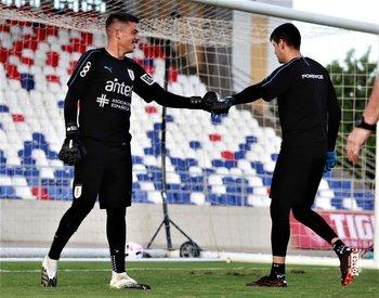 Yonatan Irrazábal y Rodrigo Muñoz