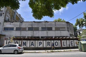 Instalaciones de Conaprole en Montevideo.