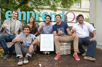 Sinergia fue ganadora del EmprendO 2014