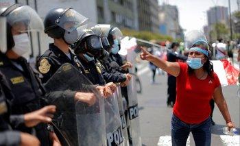 Protestas en Lima, Perú