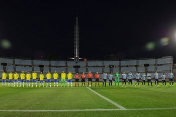 La selección uruguaya enfrentaba a Argentina y Bolivia en esta doble fecha