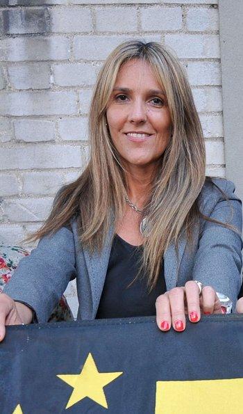 Alessandra Mazurkiewicz estará en un puesto importante de la lista de Damiani