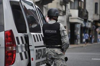 Foto de archivo. El delincuente fue detenido en Montevideo, sobre la avenida 18 de Julio