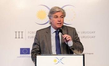 El ministro Francisco Bustillo participó de una reunión virtual con los cancilleres del Mercosur