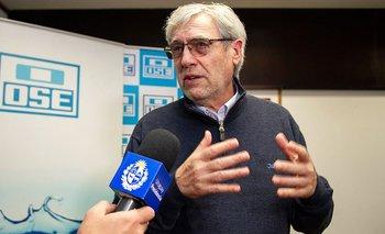 Raúl Montero, presidente de OSE.