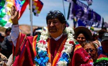 o Morales volvió a Bolivia un año después de su salida a refugiarse en el exterior
