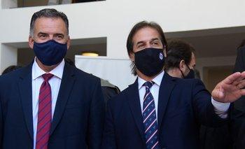 El presidente polemizó con Yamandú Orsi