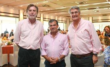 Eduardo Payovich, Carlos Manini y Horacio Vilaró
