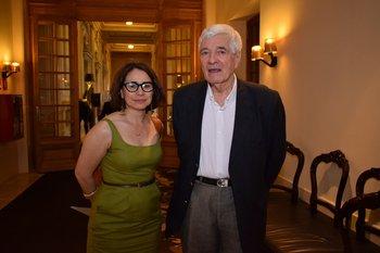 Cristina Montero y Patrick Moyna