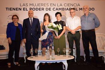 Edith Moraes, Anibal Scavino, Sonia Rodríguez, Lydia Brito, Rodrigo Arim y Fernando Brum