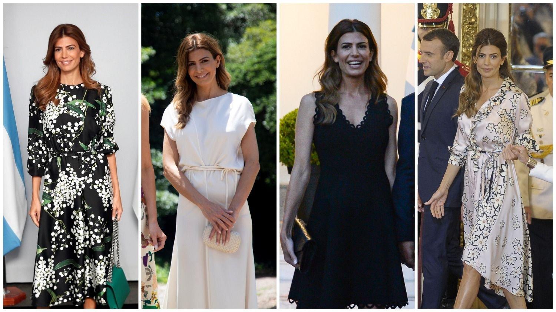 La elegancia de Juliana Awada en el G20