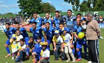 El equipo de Bella Vista que ganó 2-1 a Colón y logró el ascenso a Segunda División Profesional