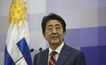 Primer ministro de Japón, Shinzo Abe.