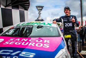 Rodrigo Aramendía (Peugeot) quiere recuperar el 1.