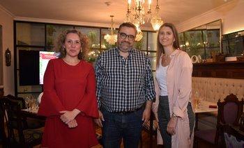 Alva Sueiras, Jaime Clara y Ana Inéz Maranges
