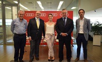 Daniel Azzini, Juan lestido, Maria Noel Riccetto, Ignacio de Posadas y Javier Lestido